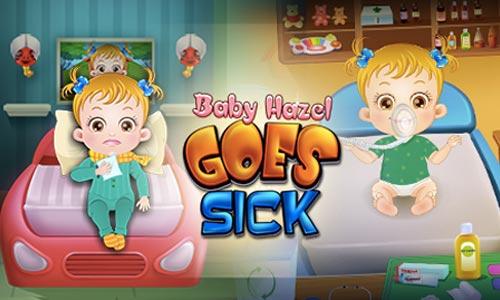 Play Baby Hazel Goes Sick on PC