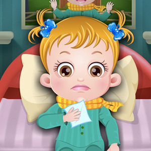 baby hazel goes sick free full version