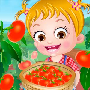 Play Baby Hazel Tomato Farming on PC