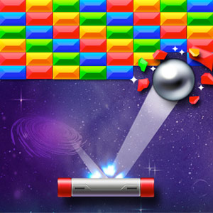 Play Brick Breaker Star: Space King on PC
