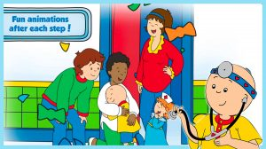 caillou check up download PC