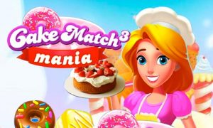 Play Cake Match 3 Mania on PC