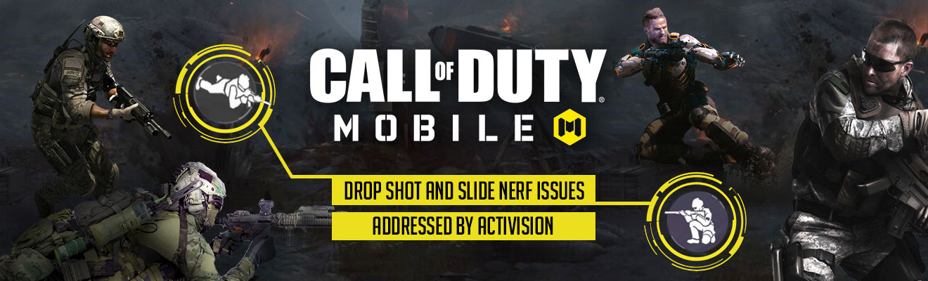 call of duty slide drop shot