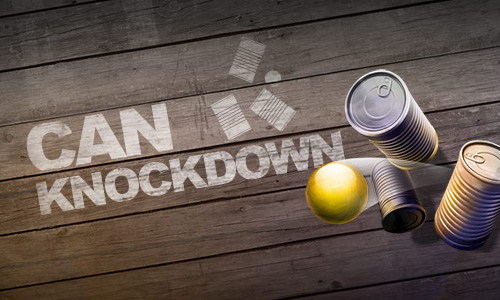 Play Can Knockdown 3 on PC