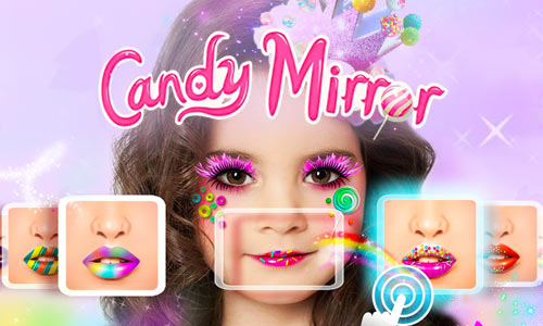 Play Candy Mirror ❤ Fantasy Candy Makeover & Makeup App on PC