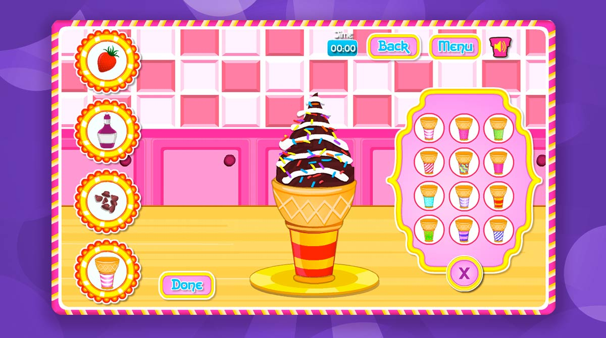 cooking ice cream cone cupcake download free