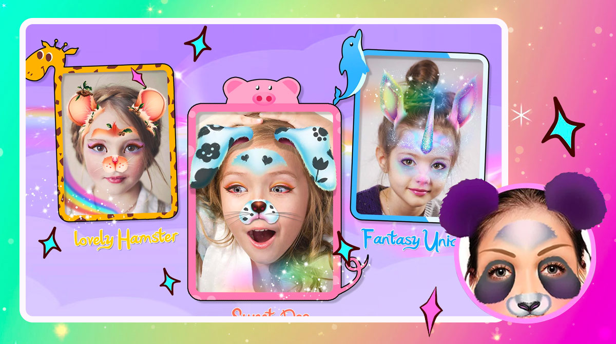crazy animal filters download free