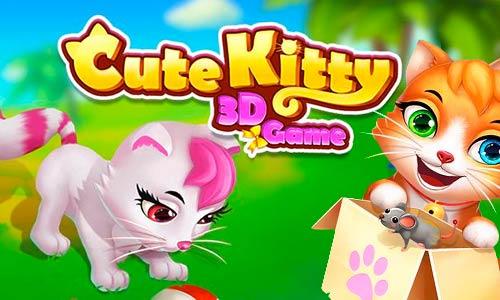 Play Cute Kitten – Unique 3D Virtual Pet on PC
