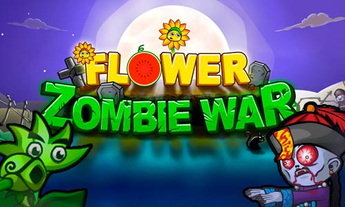 Play Flower Zombie War on PC