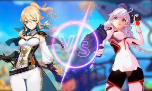 genshin vs honkai thumbnail