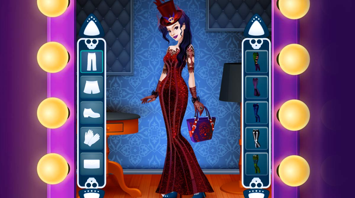 gothic dress up download free