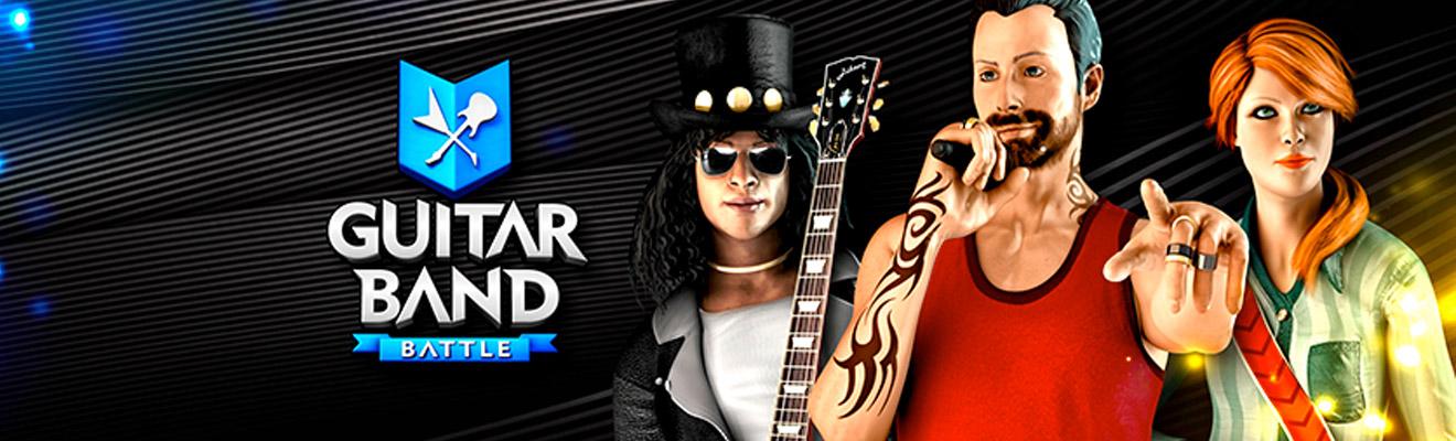 guitar band battle header banner