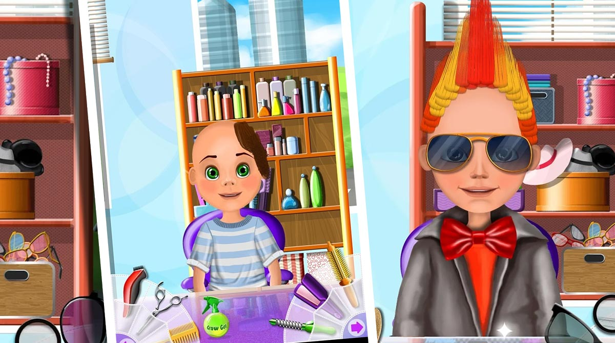 hair salon makeover download PC
