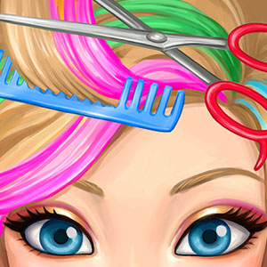 Play Hair Salon Makeover on PC