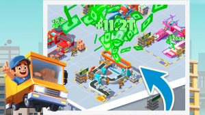 idle courrier tycoon download full version