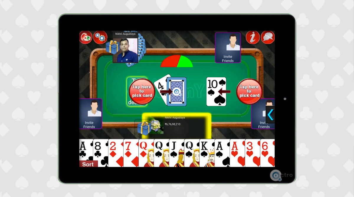 indian rummy surfers PC free