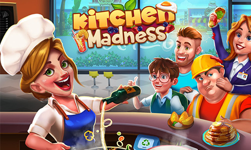 Play Kitchen Madness – Restaurant Chef Cooking Game on PC