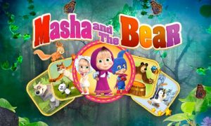 Play Masha and the Bear Child Games on PC