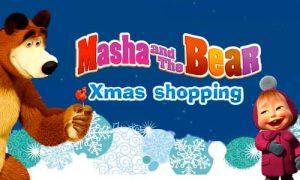 Play Masha and The Bear: Xmas shopping on PC