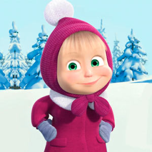 Play Masha and The Bear: Xmas shopping on PC