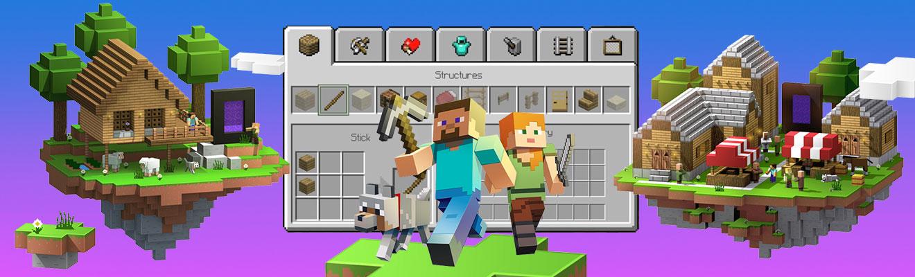 minecraft craft building survival mode