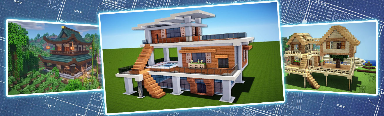 minecraft house build ideas