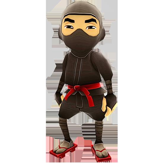run subway ninja character