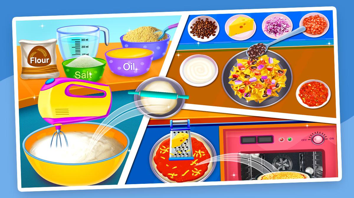 street food cooking game download PC free