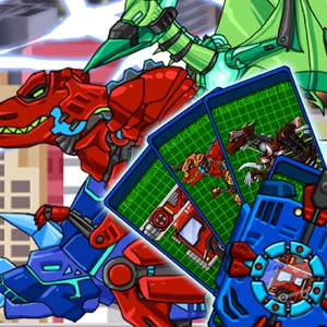 Play Transform Dino Robot – General Mobilization on PC