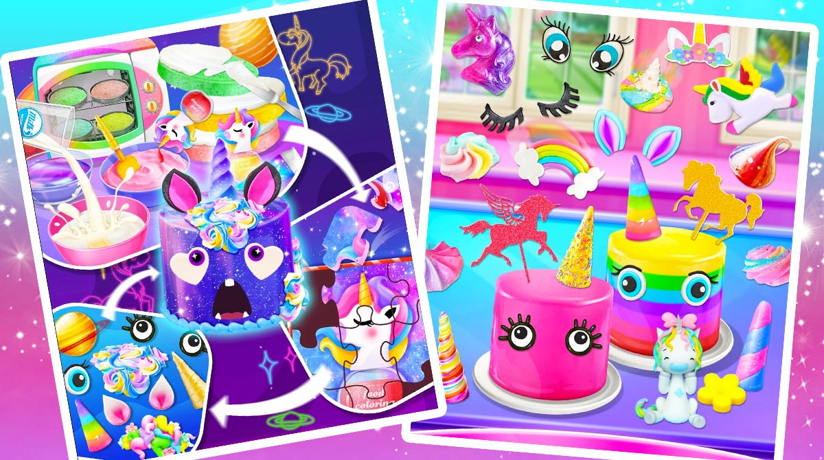 unicorn food cake bakery download PC free