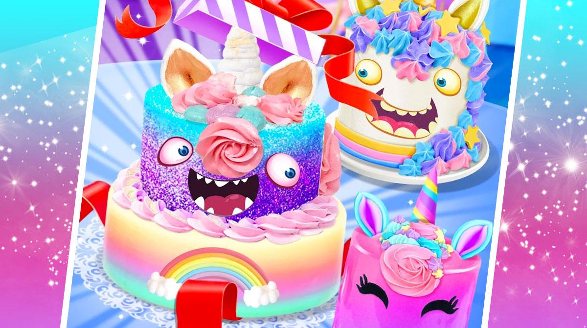 unicorn food cake bakery download PC