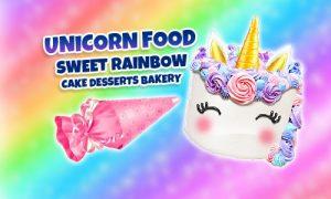 Play Unicorn Food – Sweet Rainbow Cake Desserts Bakery on PC