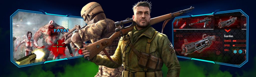 zombie killing gameplay review