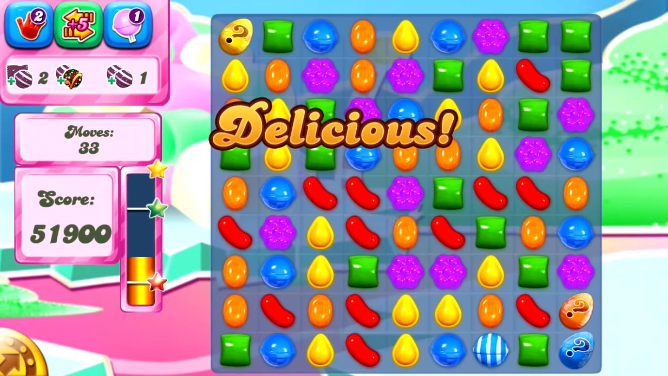Candy Crush Saga Puzzle Game