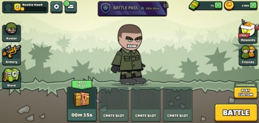 Mini Militia screenshot