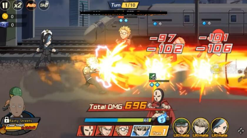 One Punch Man The Strongest gameplay
