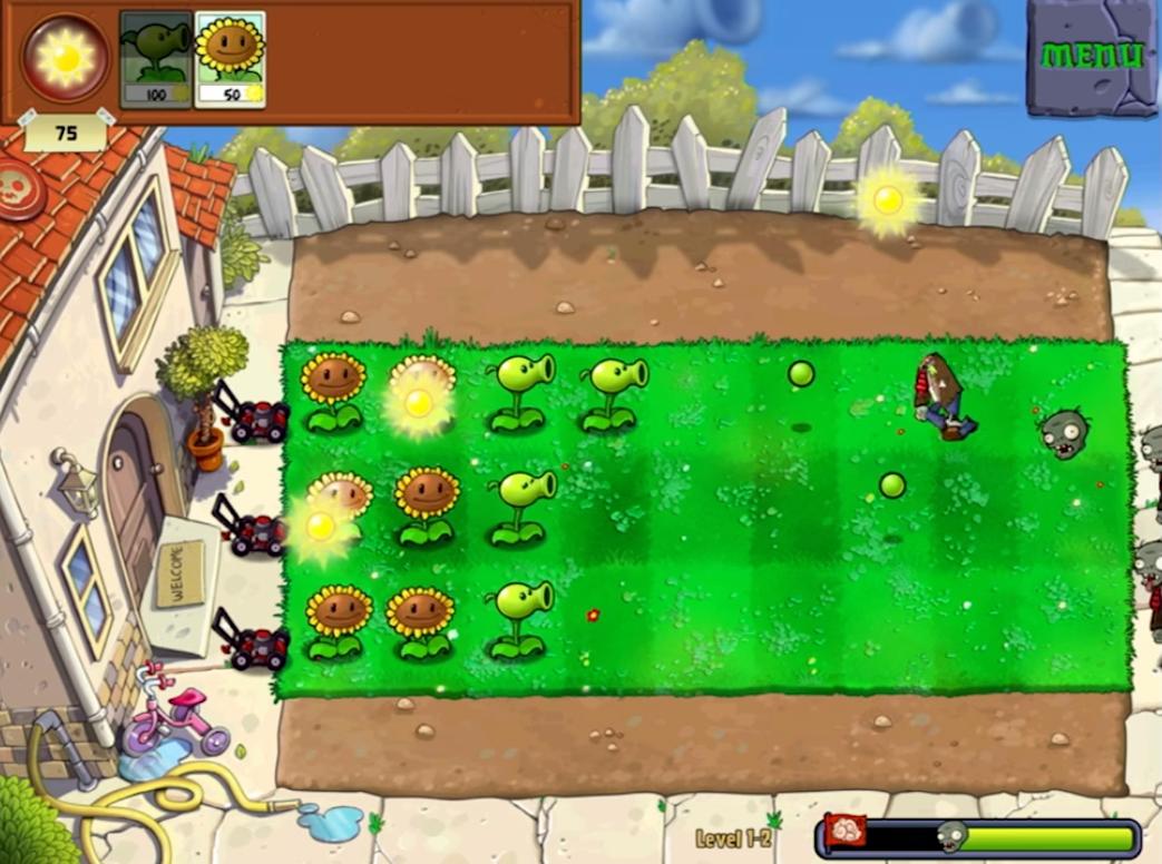 Plants vs. Zombies Puzzle Game