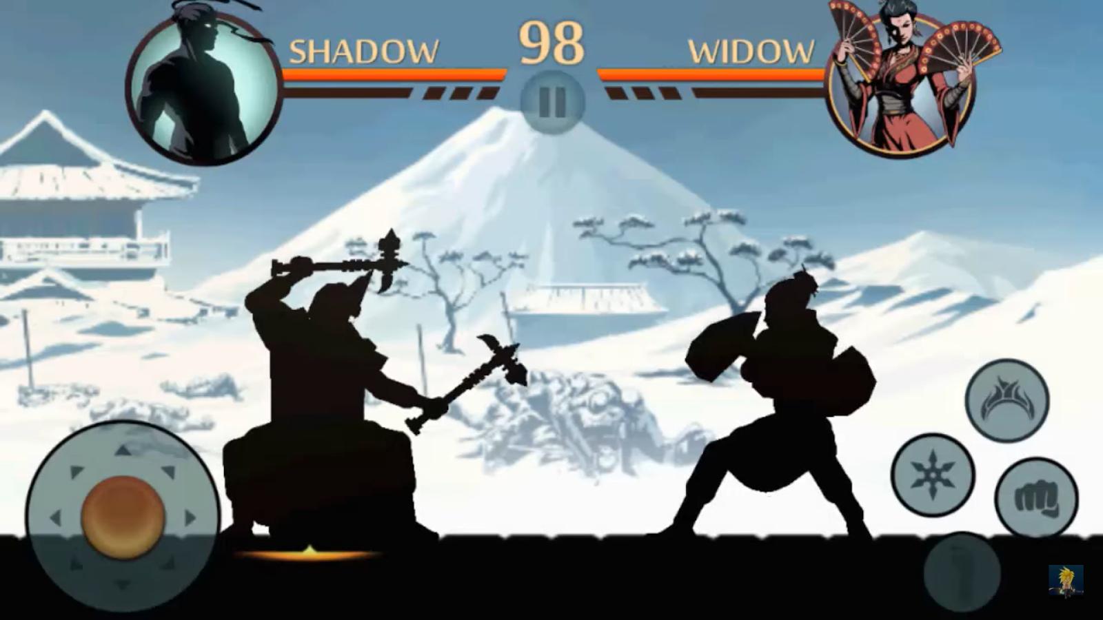 Shadow Fight 2 Bosses Widow