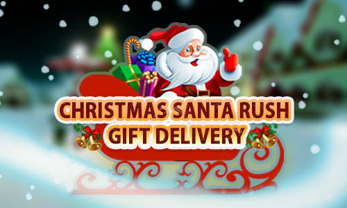 Play Christmas Santa Rush Gift Delivery- New Game 2020 on PC