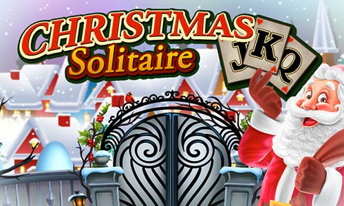 Play Christmas Solitaire: Santa's Winter Wonderland on PC