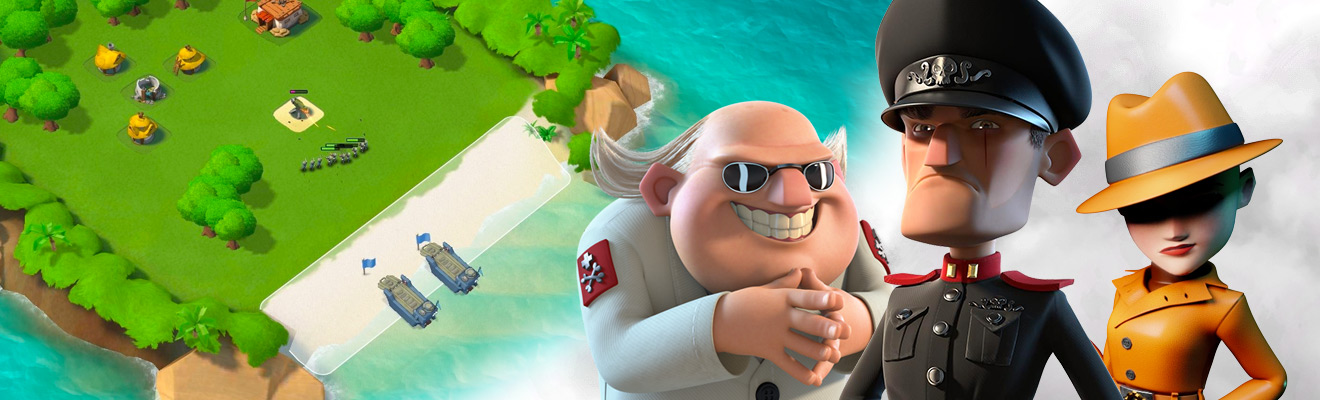 general scientist spy boom beach characters