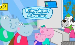 Play Hippo at the Airport: Adventure on PC