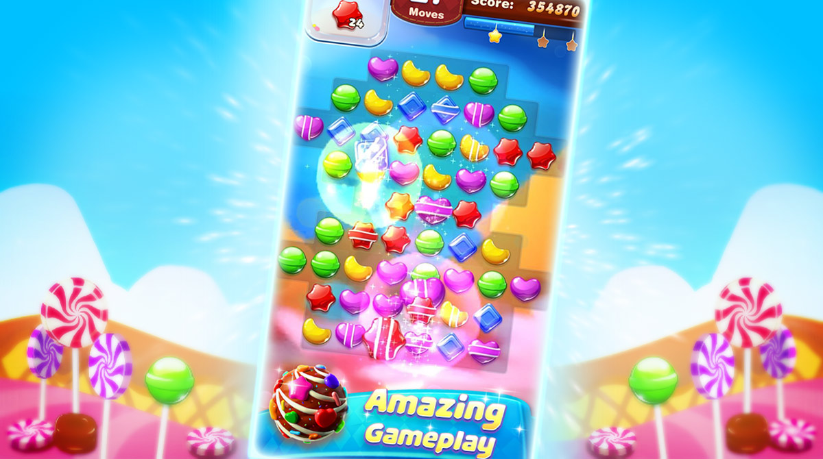 sweet candy forest download PC free