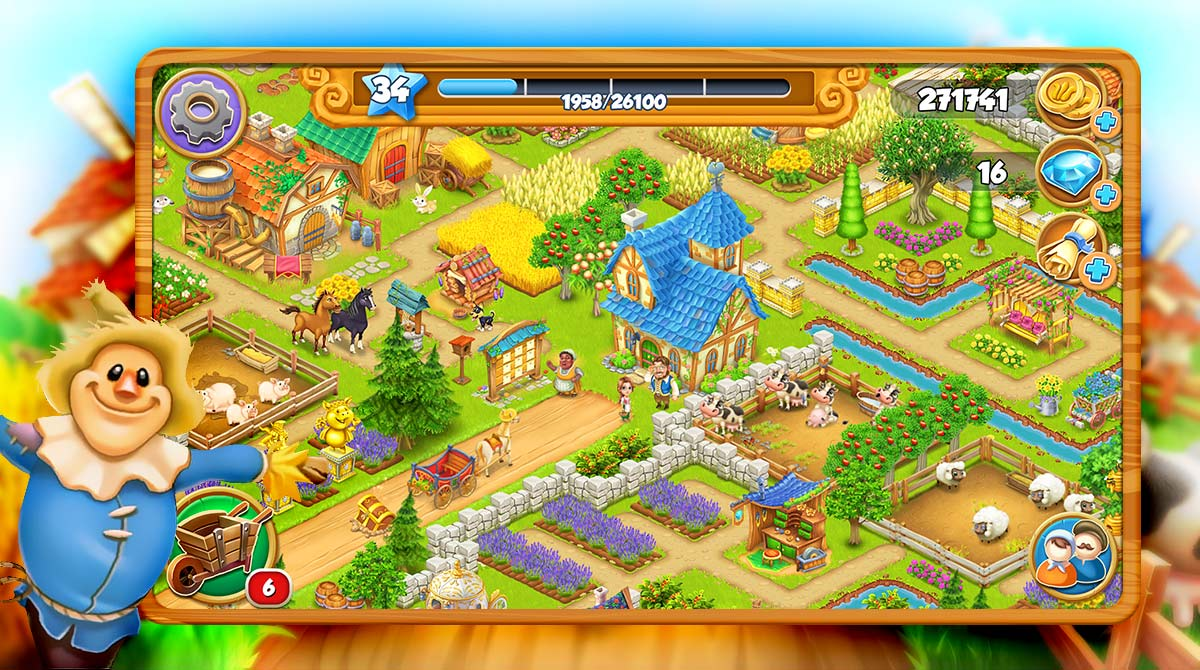 village and farm download PC free