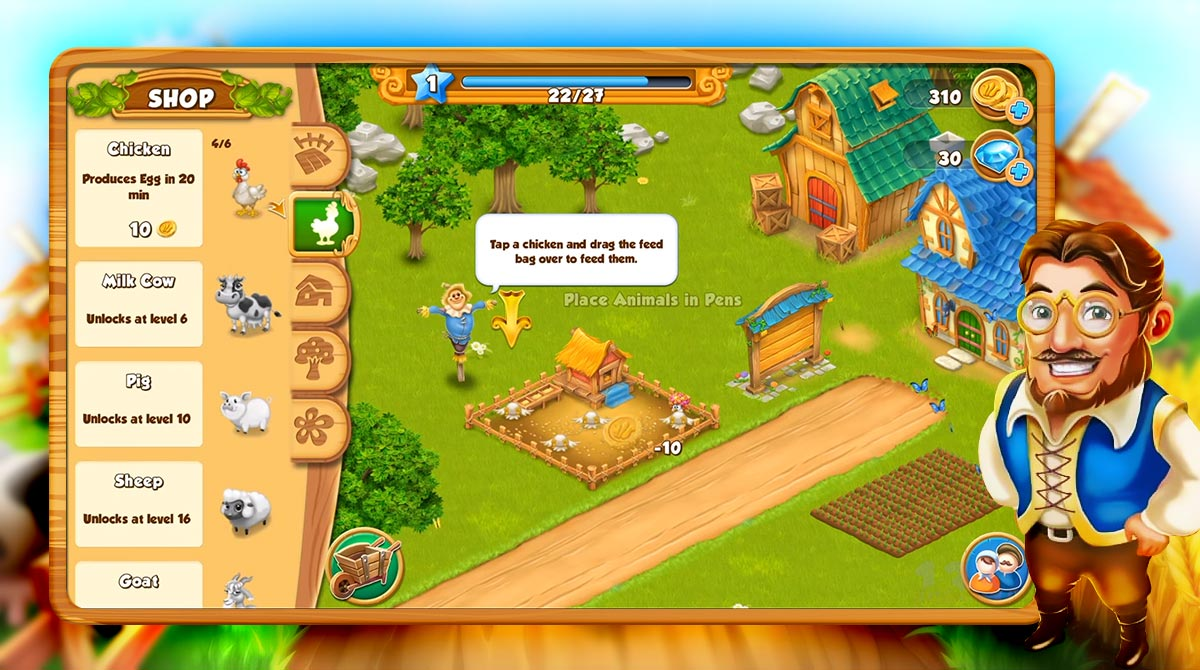 village and farm download free