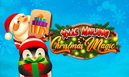 Play Xmas Mahjong: Christmas Holiday Magic on PC