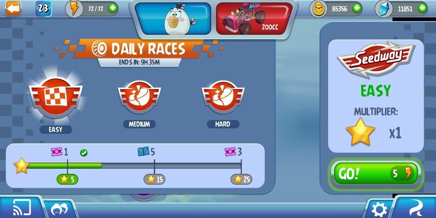Angry Birds Go Races