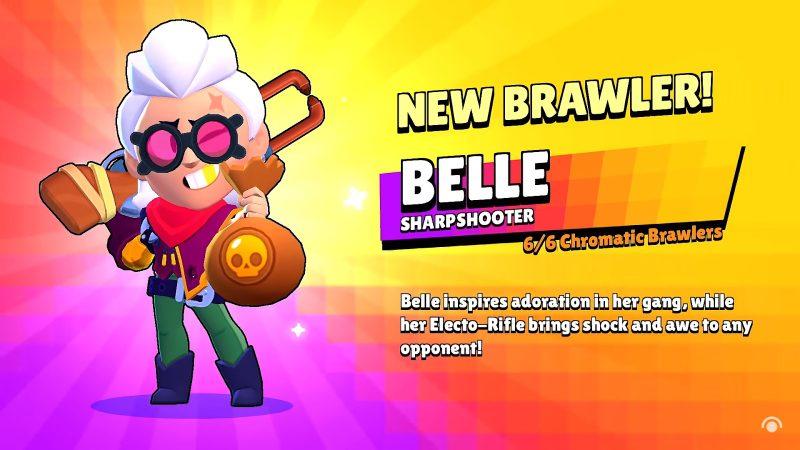 Brawl Stars Belle