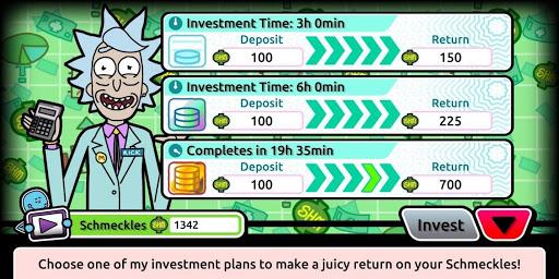 Invest Pocket Mortys