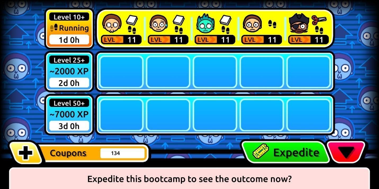 Pocket Mortys Gameplay